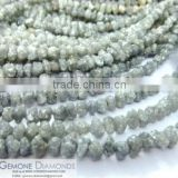 Rough Diamond Beads Necklace Manufacturer