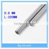Hot CNC M8-320 mm cylindrical rod linear guide rail slide rail section motion optical axis