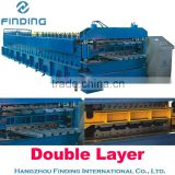 roofing sheet making machine professional double layer roll forming machine with low prices                                                                         Quality Choice