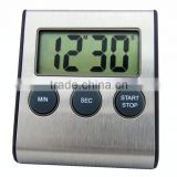 magnetic digital kitchen timer & stainless steel shell countdown timer & ABS plastic timer with CE DTH-23