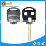 3 button transponder blank remote key shell with short Toy48 blade with logo and chip groove for Lexus rx330 is200 lx470