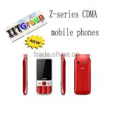 alibaba express mobile phone CDMA Phones:low price china mobile phone Z705 with 3sim cards mobile phone
