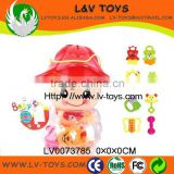 Hot sale high quanlity best infant toys plastic baby rattles toy ABS China manufacture with EN71 LV0073785
