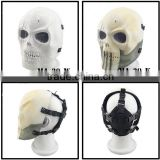 High Quality Mesh Goggle Protective Full Face Halloween Party Masks Paintball Airsoft Skull Mask