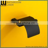 18233 wholesale vintage design online shopping zinc bathroom accessories black toilet paper holder