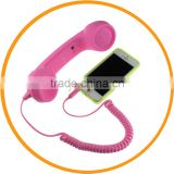 3.5mm Wired Mic Retro Phone Handset Telephone Receiver for iPhone from Dailyetech