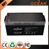 Fashional designed factory wholesale price 12V 200ah first class quality 12v deep cycle battery