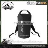 Custom logo Waterproof Backpack Dry Bag With Comfortable Black Padded Shoulder Straps, 40 litre Beach, Paddle Board, Camping,