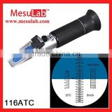 Hot Sale! Portable Hand-held honey Refractometer 116 ATC refractometer honey