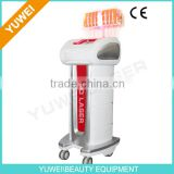 YUWEI-Best effect and comfortable vertical 650nm diode laser slimming machine for beauty salon