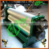 Hot selling Beeswax Foundation Manual Coining Mill Machine for Beeswax Foundation Sheet Making