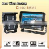 vehicle Car Backup Camera System 7 inch TFT LCD monito for Trucks/Farm Tractor/Heavy Equipment/Fork-lifts/RV
