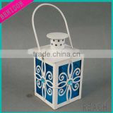 REACH NEW DECORATIVE CHEAP PLANTS PAINTED METAL TEA LIGHT LANTERN STANDING OR HANGING TEA LIGHT HOLDER CENTERPIECES