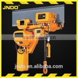 low clearance double speed 380v electric chain hoist