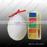 Easter egg/ Education Toy Colorful Painting Egg/ kids crayon painting egg educational toy