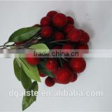 artificial red bayberry plastic waxberry plastic fruit decoration