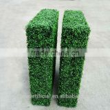 GNW Customized Artificial Boxwood mat hedge artificial grass for sale landscaping wall patio decoration