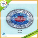 2015 latest wholesale rhinestone buckles for ribbon