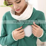 autumn fashion design nursing blouse