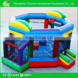 Inflatable Joust,Boxing ring,Soccer & Basketball Adventure minimum space required 28'L X 24'W X 15'H