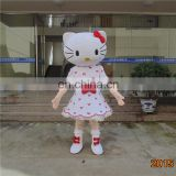 professional design hello kitty mascot costume for party dancing