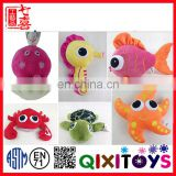 New Type baby sound activated different animal shape toys