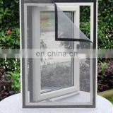 2016 All around adhesive velcro Magnetic Screen window netting for Preventing Bugs and Decorating Rooms