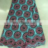 swiss embroidery cotton lace(A-40-1)