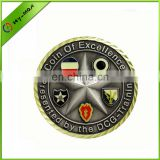 competitive price military style metal coin