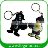 Custom Brand Cute Customized Pvc Keychain 3D Pvc New Products