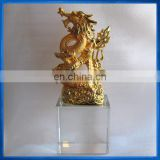 Lifelike crystal dragon gift