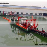 18 inch hydraulic cutter suction dredger with capacity 700 cbm/h
