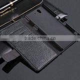 For sony z l36h case , fashion leather wallet leather case for sony z l36h