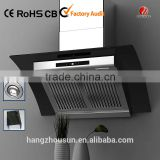 Hot sale tempered glass kitchen fume hood (CE Approved)