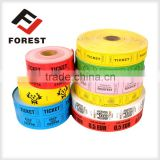 raffle ticket/coupon ticket roll paper, raffle game ticket roll printing                                                                         Quality Choice