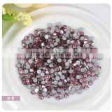 SS16 Hotfix Iron Light Purple AB 4mm Flat Back Rhinestone SS30 6mm size