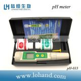High accuracy waterproof hand held digital ATC chemical ph meter data hold function                                                                         Quality Choice