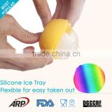 Cute ball shape 100% silicone ice making machines