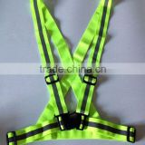 roadway safety running jogging riding warning reflective belt vest