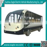 Electric enclosed shuttle bus, 11 passengers, EG6118KBF, CE approved