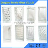 Wholesale building decorative glass block with high quality and best service
