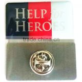 Hot selling awareness ribbon lapel pin