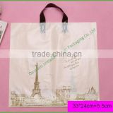 Best Price Chinese Factory Wholesale Custom Printed Plastic Shopping Bag with Die Cut Handle