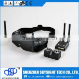 video ski goggles, head display video goggles, ski goggles camera SKYZONE SKY02 3D FPV GOGGLES