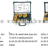 14 pieces Bi-Metal Hole Saw Set