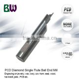 Jewellery Cutting CNC Diamond Stone Ngraving Tools For Engraving