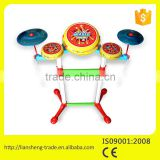 mini plastic drum set toys for kids