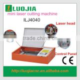 China desktop portable mini laser metal cutting machine price ILJ-4040 for Acrylic Crytal Glass