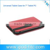 "2014 Universal Tablet Case for 7"" android tablet,Brand New Universal Leather Cover, Tablet case universal"