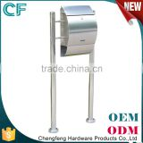 China Factory Cast Stainless Steel Apartment Post Boxs